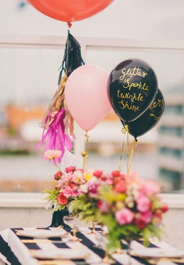 De 30 ideas de decoraci n con globos para cumplea os - 30 cumpleanos ideas ...