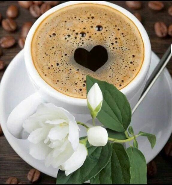 coffee served with ❤️