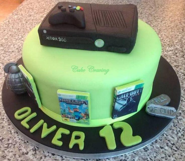 xbox birthday theme | xbox themed cake