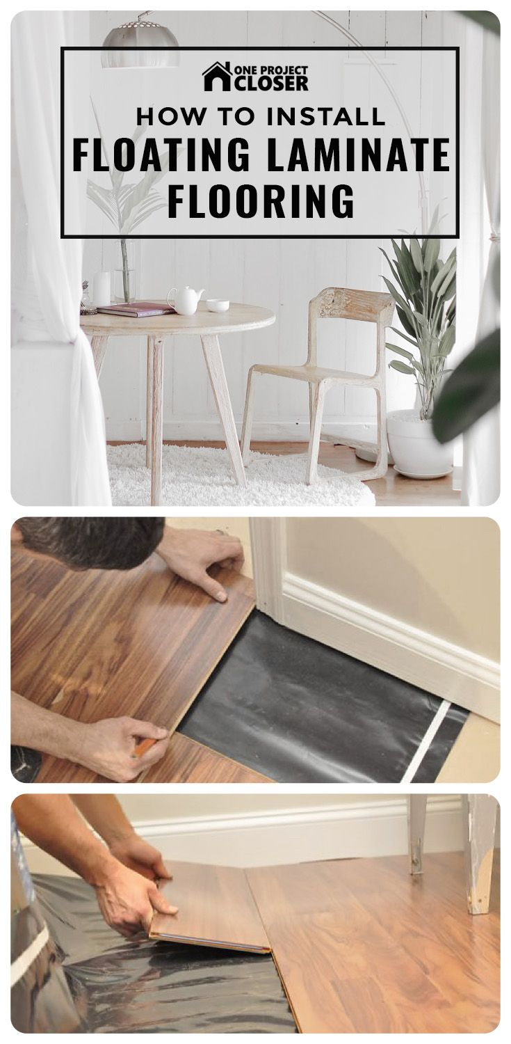 How To Install A Floating Laminate Floor Diy Wood Floors Laminate Flooring Diy Laminate Flooring