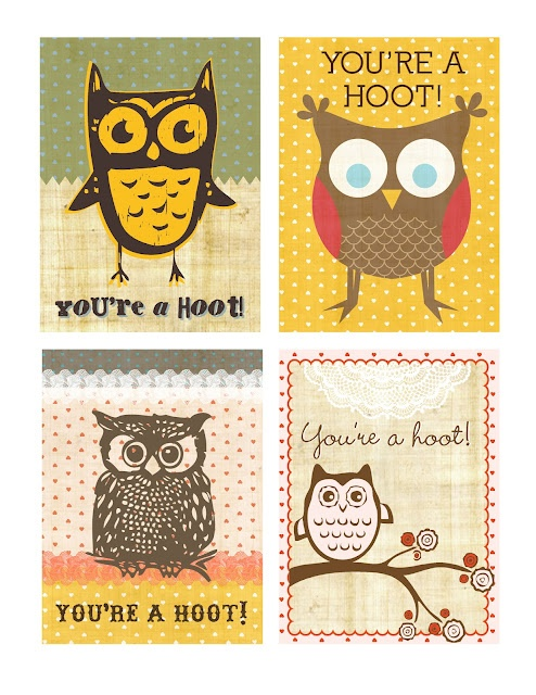 Love these free printables!! OWLS