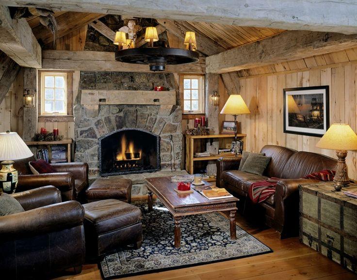 365 best cabin interior design decor images on pinterest for Home decor on highway 6