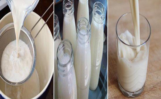 Leite de Aveia 0% Lactose Se você for como eu que tenho intolerância a lactose irá amar esse maravilhoso leite de aveia caseiro,fácil de fazer, uma receita bem simples, sem glúten, sem lactose totalmente vegana. INGREDIENTES 1 litro de água morna 1 xícara (chá) de farelo de aveia ⅓ xícara (chá) de aveia em flocos