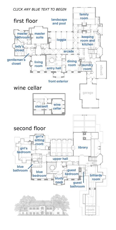 Architecture Houses Blueprints 493 best plans i images on pinterest | house floor plans