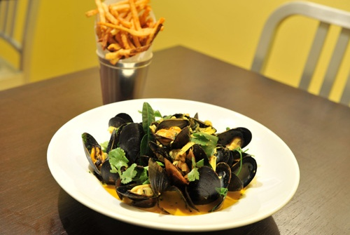 #PEI #mussels at #Flex Mussels in #NYC