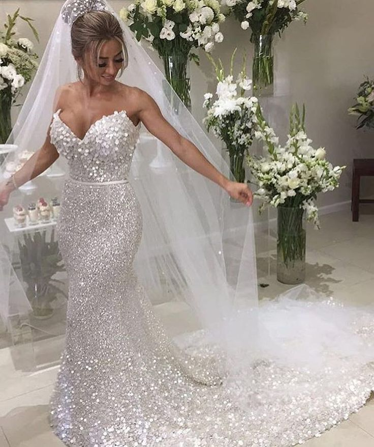 Beaded Wedding Gowns Like This Do Not Have To Cost A Fortune We Make Custom Weddingdresses In Comfortable Price Range Can Also Replicas Of