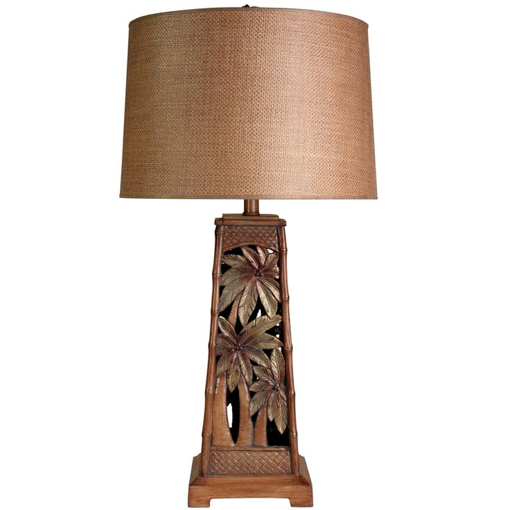 Palm Tree Tropical Table Lamp | Overstock.com Shopping   The Best Deals On  Table