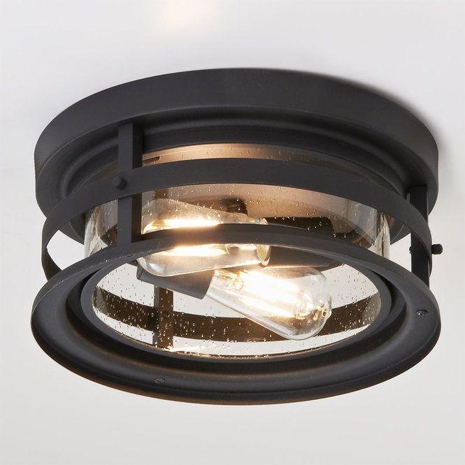 Vintage Cylinder Seeded Outdoor Ceiling Light Outdoor Ceiling Lights Ceiling Lights Rustic Ceiling Lights