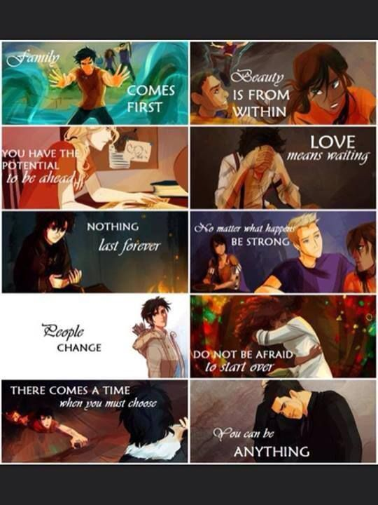 I love this post— it is the true messages of Heroes of Olympus.