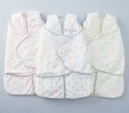 Chamois Dot and Stripe HALO SleepSack® Swaddle, Newborn  #HALOSleepSack