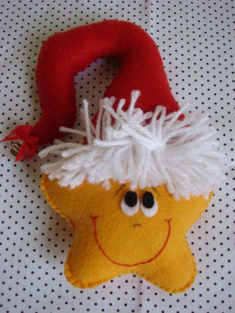 Елочные игрушки из фетра - http://www.chudo-korobka.com/?p=5