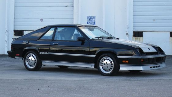 1986 Shelby Charger Hatchback