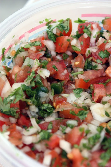 pico de gallo, yummmmmy           love this stuff on almost everything!!
