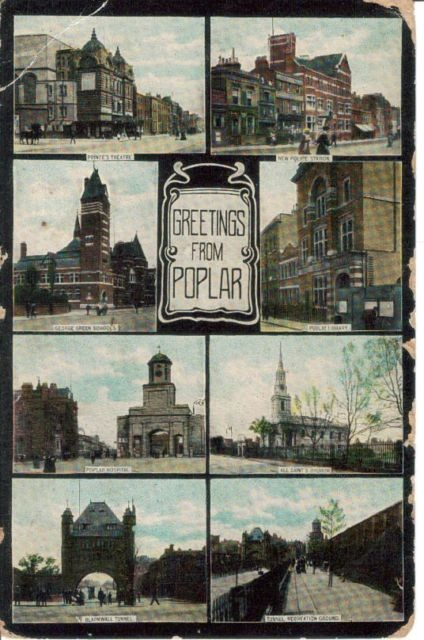 Greetings from Poplar, 1908