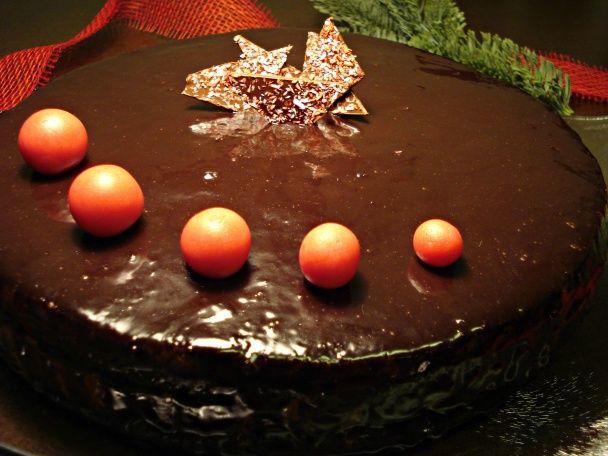 Sviatočná čokoládová torta (fotorecept) - obrázok 13