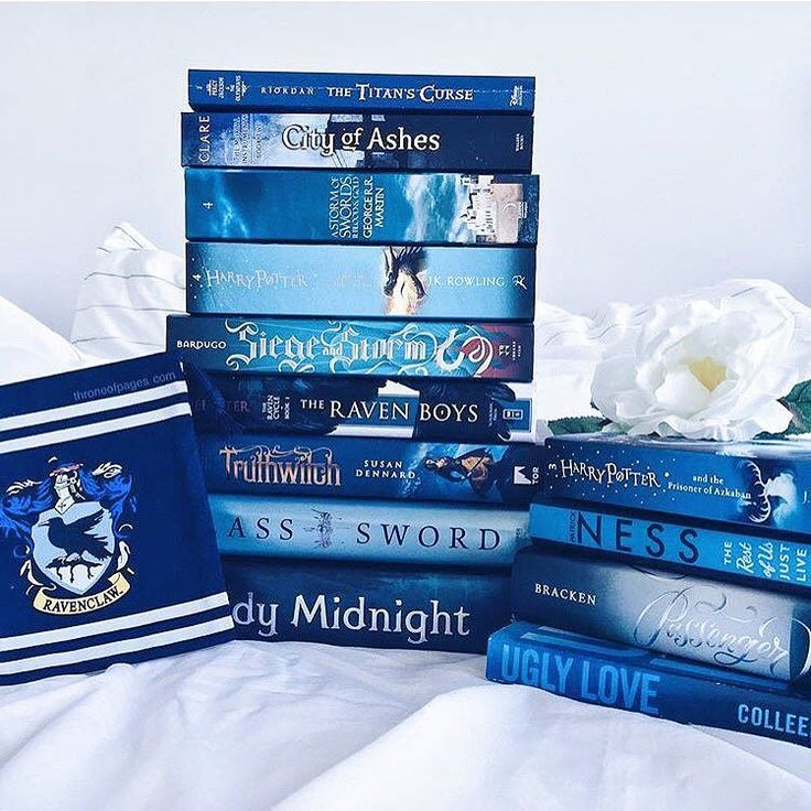 Just came across @throneofpages account and omg these pictures! I love this one because of the blue books!  What is your favourite colour? Comment below using emojis mine is  #bookstagram #yalovin #epicreads by benjaminoftomes