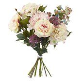 Buy Peony Pink Hydrangea and Rose Bouquet from our Artificial Flowers & Plants range at John Lewis. Free Delivery on orders over £50.