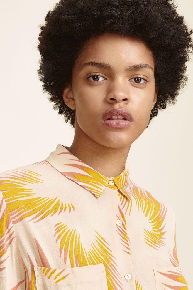 Milly Shirt Aop 7201 Women Stores Scandinavian Fashion Samsoe Samsoe