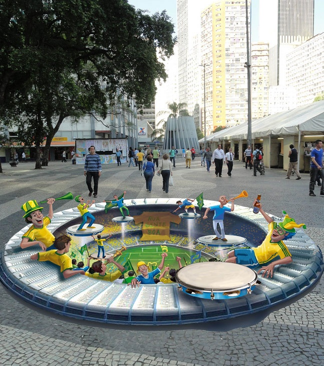 Eduardo Kobra 3D Street Art                                                                                   |AmazingStreetArt|