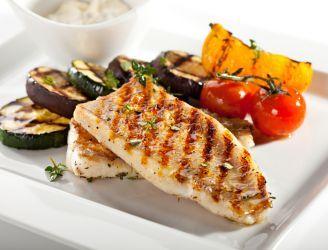 Grillowana ryba w białym winie #grill #bialewino #wino #ryba