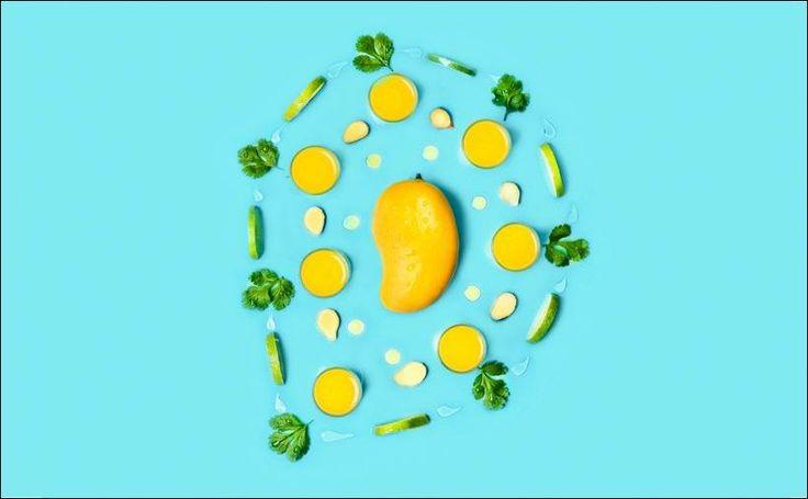 Студия Sagmeister & Walsh освежила дизайн бренда сока манго индийской компании