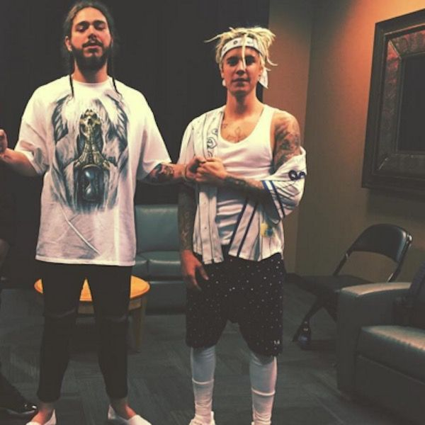 Justin Bieber Getting Choked By Post Malone Definitely Wasn't Real - http://oceanup.com/2016/04/14/justin-bieber-getting-choked-by-post-malone-definitely-wasnt-real/