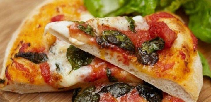Jamie Oliver's Basic Pizzas.