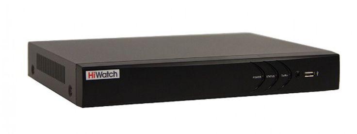 HiWatch DS-H116U DS-H116U Гибридный видеорегистратор HiWatch DS-H116U предназначен для апгрейда устаревших аналоговых систем CCTV до мегапиксельного уровня или создания новых комплексов охранного телевидения высокого разрешения в рамках ограниченного бюджета. Устройство позволяет подключить до 2-х сетевых камер (разрешение до 4 Мп, 25 Fps) и до 16 аналоговых камер стандартов HD-TVI, AHD и CVBS (HD-TVI до 3Мп, 15 Fps; AHD до 720p, 25 Fps; CVBS до WD1, 25 Fps; битрейт до 10 Мбит/с). Компрессия…