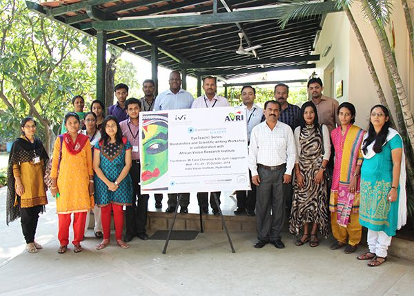 #India #Vision Institute's Capacity Building Workshop for optometrists was focused on Biostatistics and Scientific Writing.