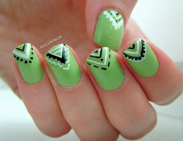 195 best diseños de uñas images on Pinterest | Nail decorations ...