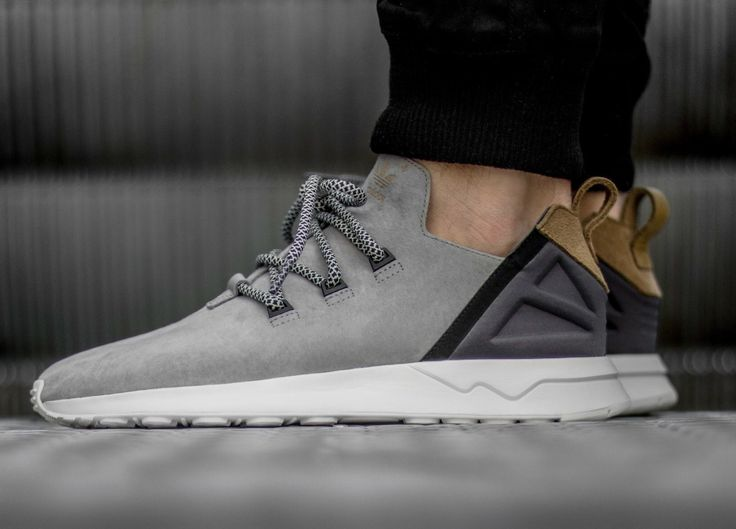 0b1c7e84b88c9 ... This Yeezy inspired adidas ZX Flux ADV X Grey Suede Gold is launching  on Wednesday ...