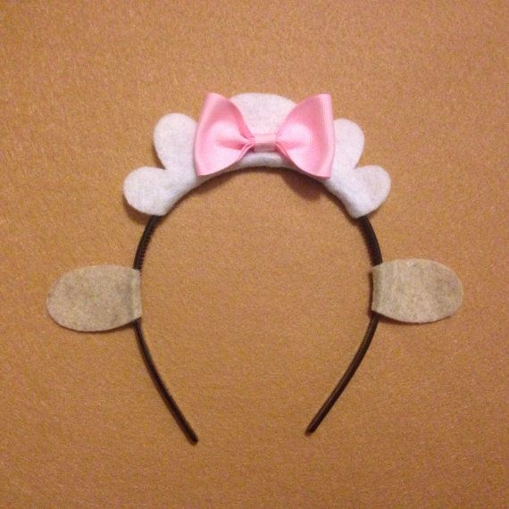 1 Sheep with bow Theme Headbands birthday party by Partyears