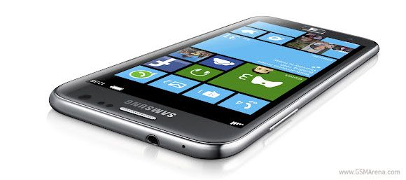 Samsung ATIV S is the first official Windows Phone 8 smartphone - GSMArena.com news