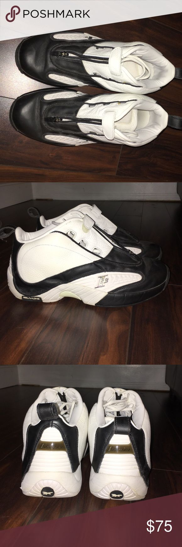 Size 10 Men's Reebok Allen Iverson Shoes Rarely worn,size 10 Allen Iverson Sneakers Reebok Shoes Sneakers