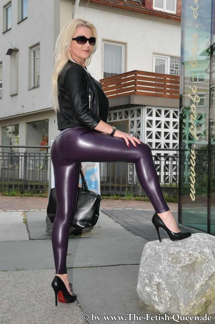 Dodue wife in leather fetish Would love