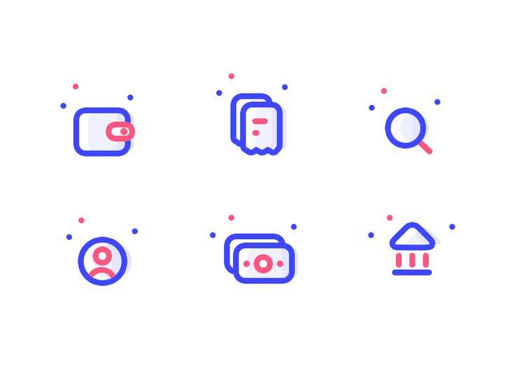 Unused expense icons ( part 9 ) by Prakhar Neel Sharma #Design Popular #Dribbble #shots
