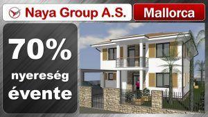 Részvények eladása Naya Group A. S. indított