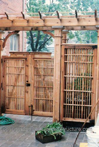 109 best Trellis/ fence designs images on Pinterest | Fencing ...