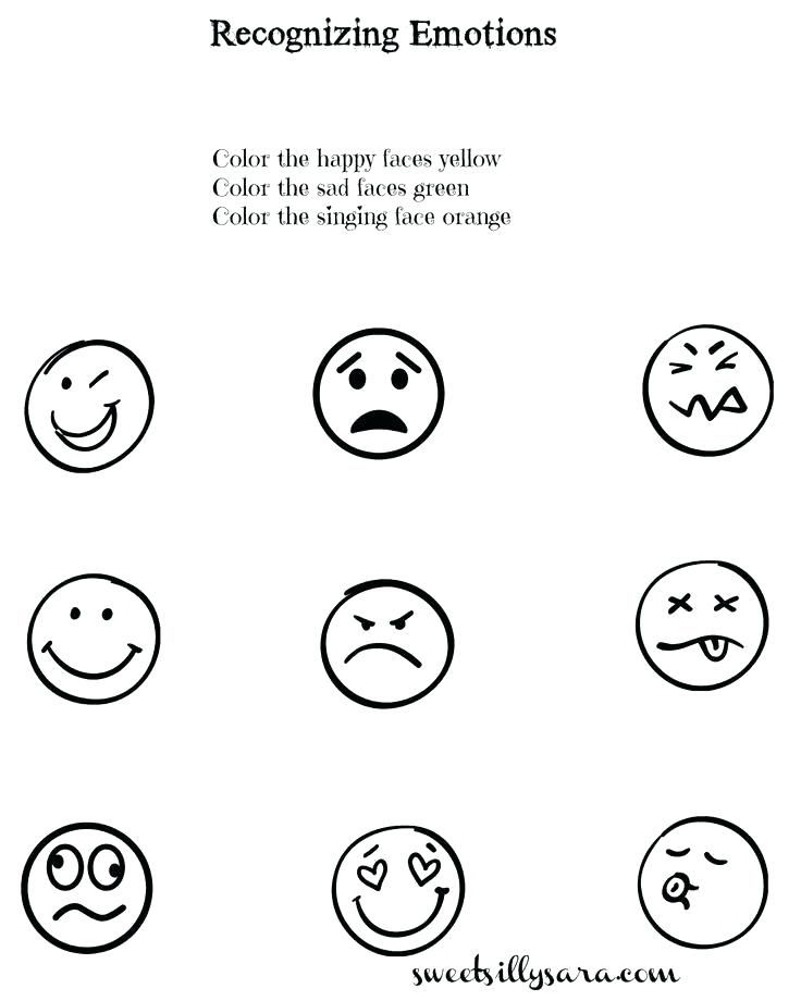 Emotions Worksheets For Children And Teaching Lesson Plan Free Preschool Emotion Worksheet Download Them Tr Feelings Activities Teaching Lessons Plans Emotions