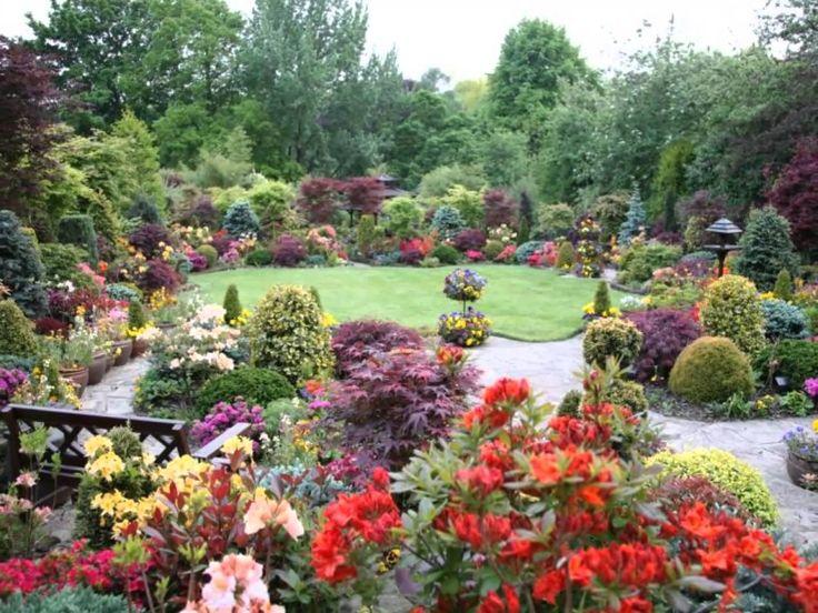 Gyönyörű kertek (szép zenével)
