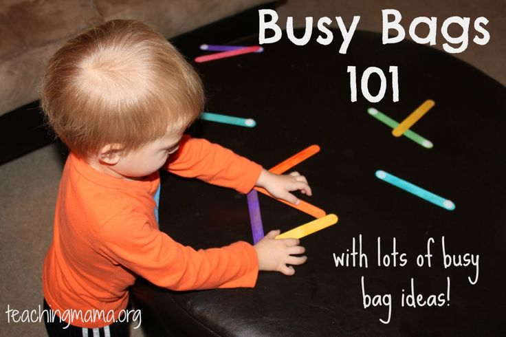 "Busy Bags 101--is it more ""busy bags"" I need to keep my little guys busy ... or maybe this Mama just needs to figure out how to get more CREATIVE in making use of the activities we already have!!! Or maybe ""antsy"" and ""toddler boys"" are just synonyms ;~)"