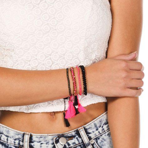 Karyn In La Shimmer Wristband Pack from City Beach Australia