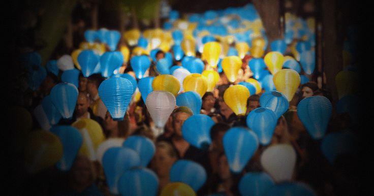Light the Night is the #LeukaemiaFoundation's annual fundraising walk at Nawi Cove, Barangaroo Reserve on 7 October.