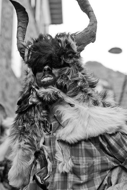 La Tranga. Carnaval de Bielsa. Huesca. España - Spain.