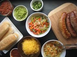 Image result for hot sausage bar