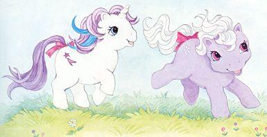 Cute My Little Pony art ...