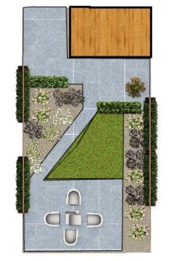 design small garden / ontwerp kleine achtertuin