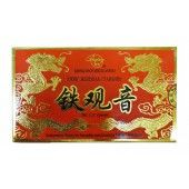 Чай Тегуаньинь – одна из жемчужин сорта чая Улун.