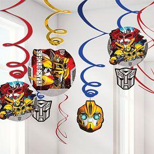 Transformers Prime - 60cm Hanging Swirls