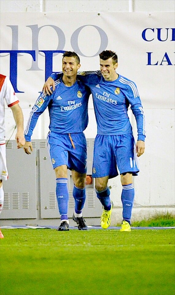 Cristiano Ronaldo & Gareth Bale  http://celevs.com/the-10-best-pics-of-cristiano-ronaldo/